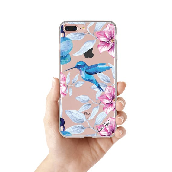 Hydrangeas & Hummingbirds iphone 11 case