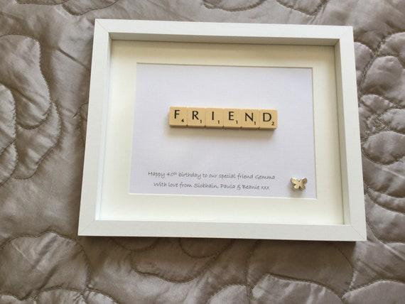 Friend gift frame friendship gift frame Gift for Mum Mummy | Etsy