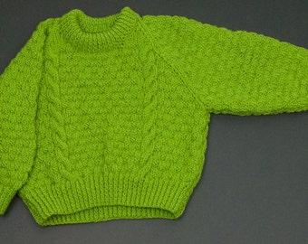 Childs Round Neck Sweater