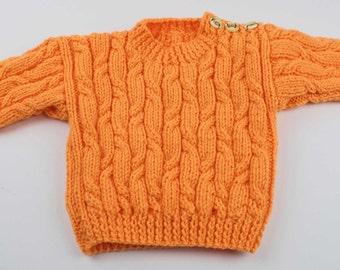 Child's Aran Sweater