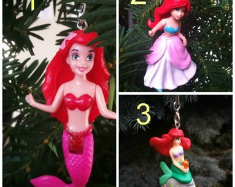 Ariel Little the Mermaid Christmas Tree Ornament - Disney Princess Christmas Tree Ornament - Christmas Decorations -
