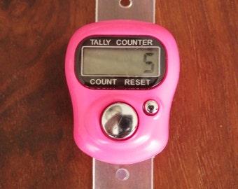 Digital finger counter,crochet counter,knitting counter digitale teller haken,Digital-Finger-Zähler,compteur de doigt numérique