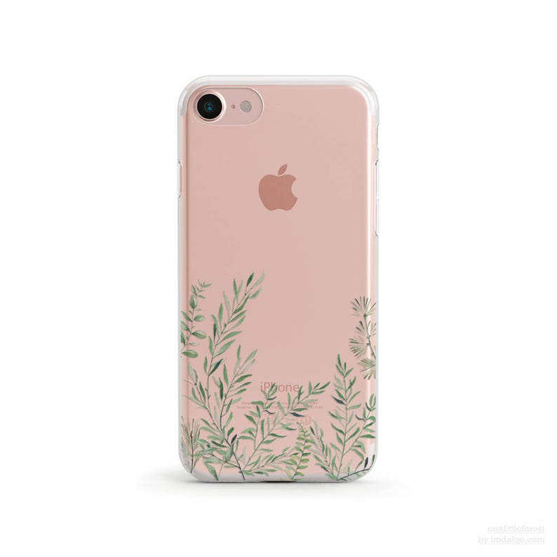 118cddecb7b8 Grass Braids Clear Soft Phone Case iPhone Xs Max iphone Xr