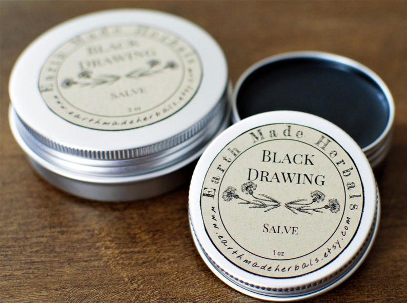 Black Drawing Salve Amish Black Salve Antiseptic Ointment Wound Care