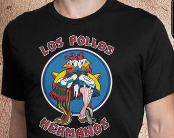 e183bdf5e Los Pollos Hermanos Shirt | Walter White | TV Shows Shirts | Breaking Bad  Gift | Unisex Breaking Bad Shirt | Father's Day Gift for Husband