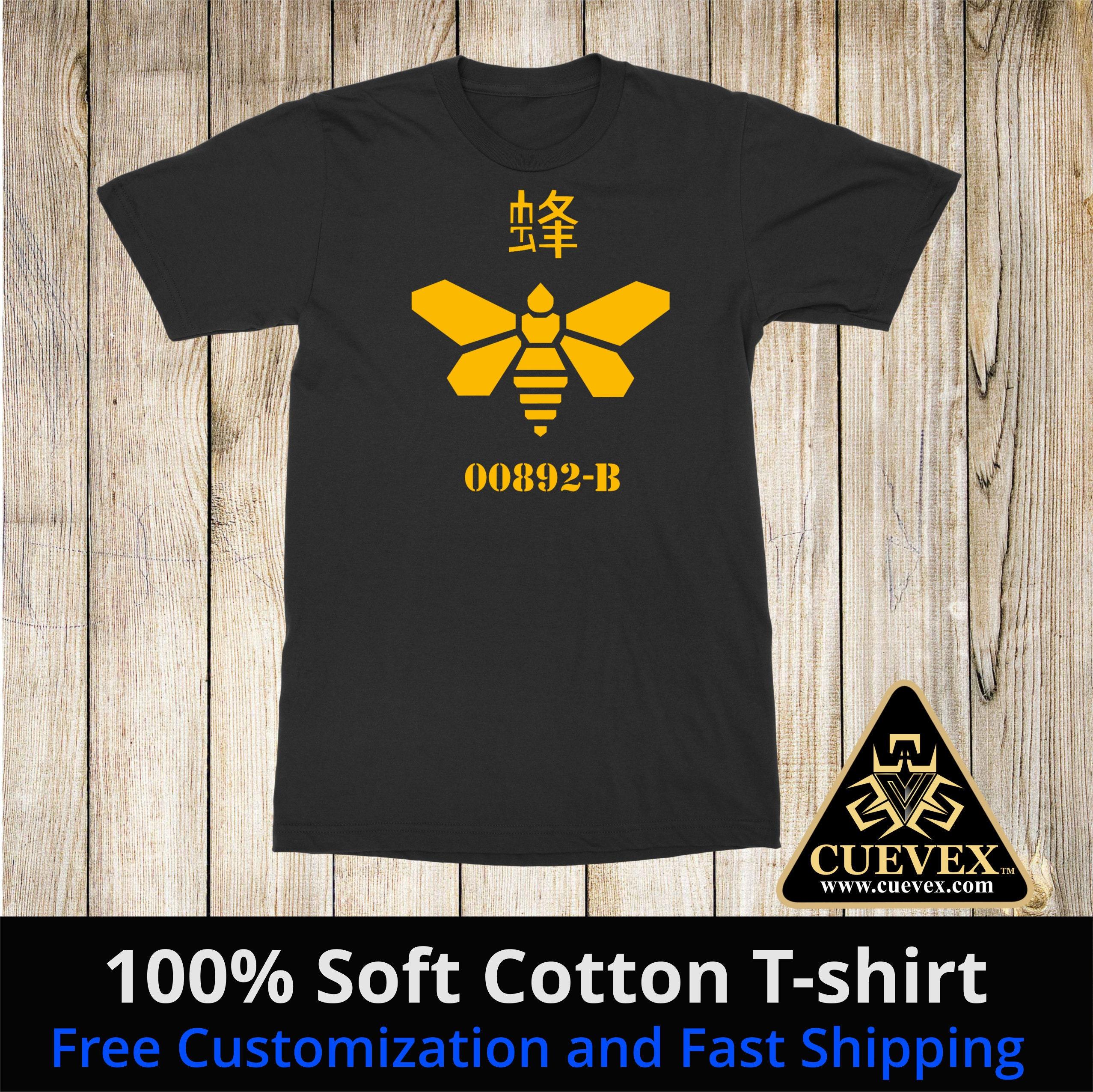a6f34e360 00892-B Methylamine Bee Barrel Heisenberg Unisex Shirt   Etsy