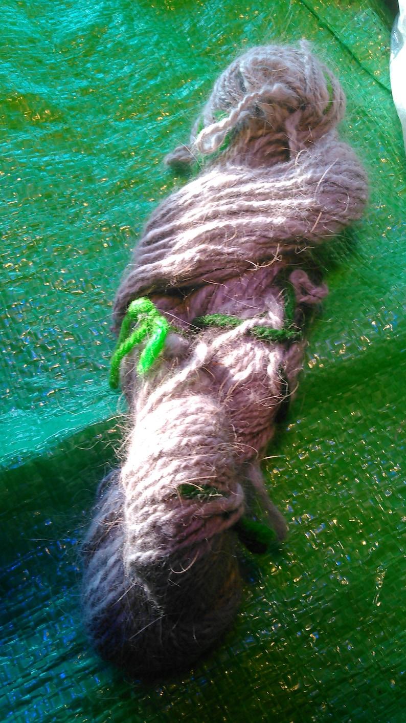for SpinningFelting Rabbit Wool Luxuiously Warm and Soft! Angora Fiber Cloud Luxious Smoke Gray