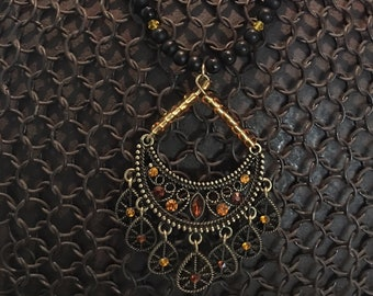Filigree Chandelier Necklace