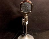 Vintage Rare ASTATIC D-104 Desert Eagle Desktop Microphone Ham CB Radio G-Stand