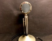 Vintage ASTATIC D-104 Desert Eagle Desktop Microphone Ham CB Radio G-Stand