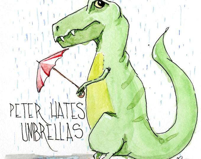 Peter Hates Umbrellas