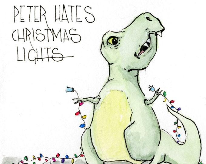 Peter Hates Christmas Lights