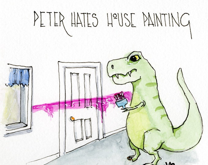 Peter Hates House Painting