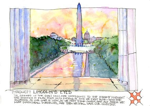 Through Lincoln's Eyes, Washington DC