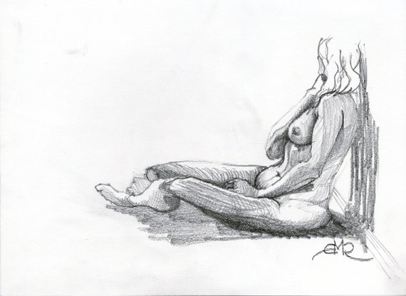 Seated Female Study 002