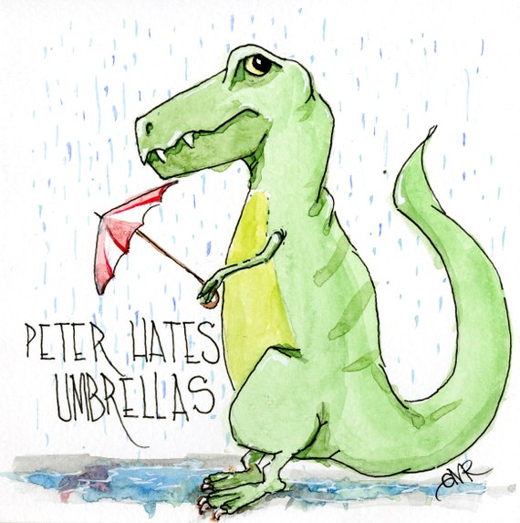 Peter Hates Umbrellas