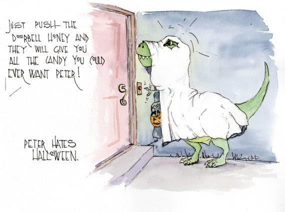 Peter Hates Halloween