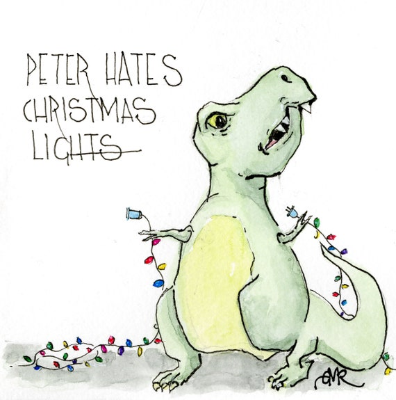 Peter Hates Christmas Lights