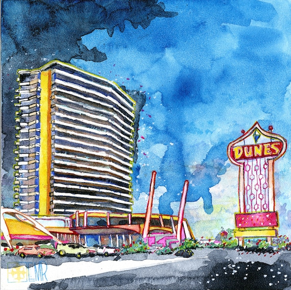Las Vegas Dunes Original Artwork