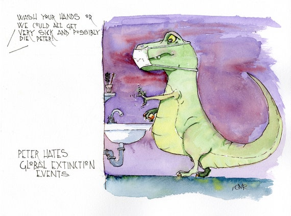Peter Hates Global Extinction Events