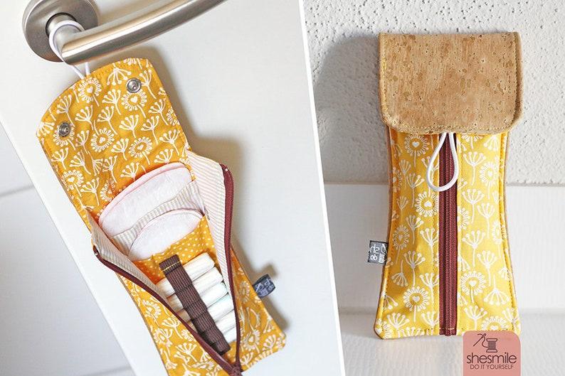 Täschchen für Slipeinlagen und Tampons Rosi image 0