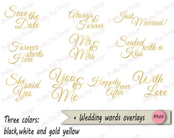 wedding words overlays black and white png word overlays save the date diy wedding card invitation wedding announcement love words