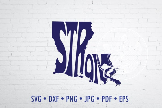 Louisiana wall decor Louisiana logo design Louisiana Word Art Louisiana Svg Dxf Eps Png Jpg Louisiana word in heart shape
