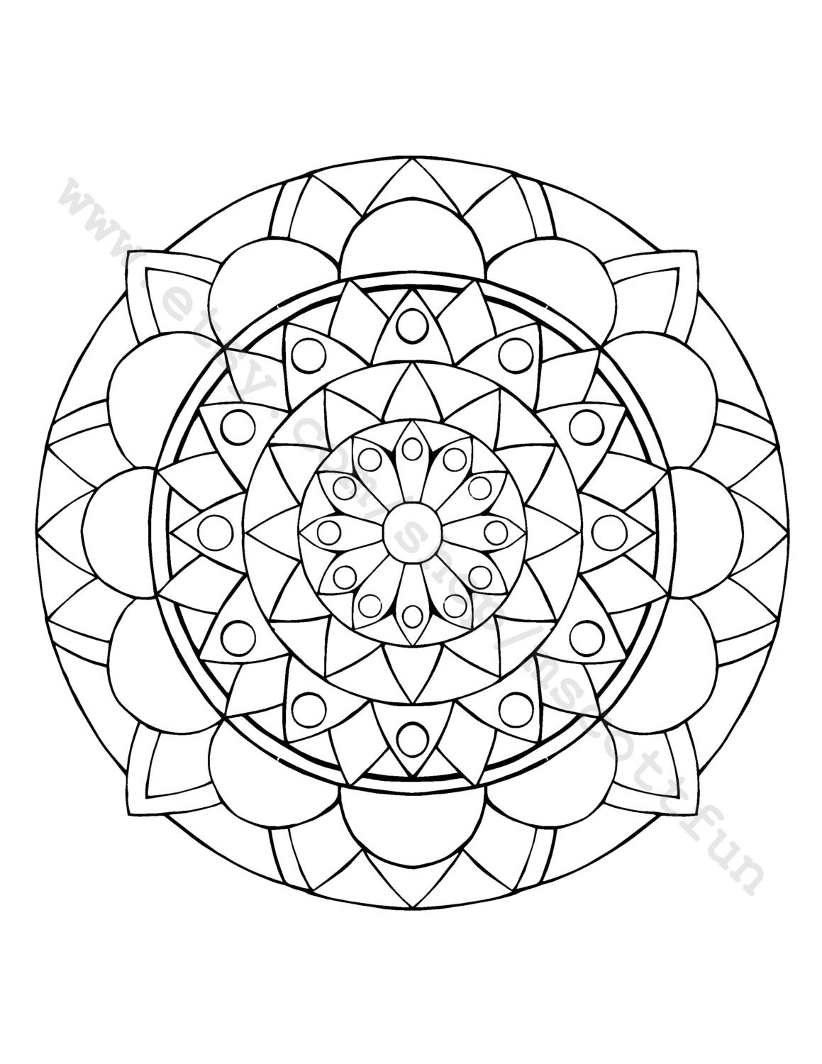 coloring page cathedral
