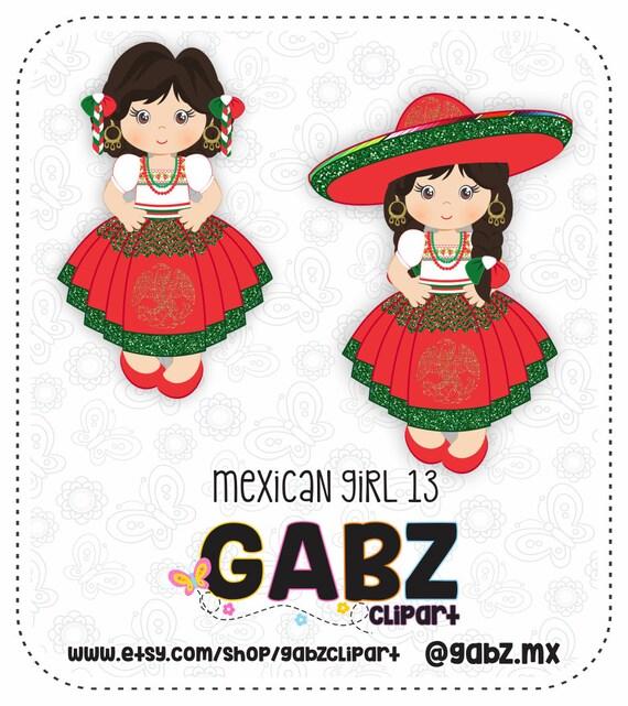 Mexicaans Meisje 13 Vijftien Party Sweet Sixteen Clipart Etsy