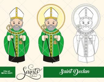 Saint Declan, Catholic Saint, Saint Clipart, Santos, Saints Collection, Gabz