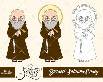 Blessed Solanus Casey, Catholic Saint, Saint Clipart, Santos, Saints Collection, Gabz