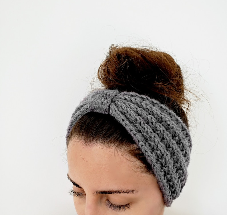 Seeded Rib Stitch Headband Pattern A Modern Turban ...