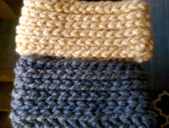 Chunky Crochet Ear Warmer Pattern Ear Warmer Crochet Pattern Etsy