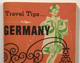TWA Trans World Airlines Germany Travel Tips Travel Guide Booklet Vintage 1963
