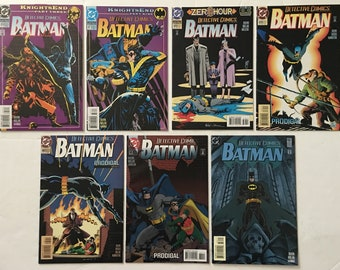 Batman Detective Comics #s 676 677 678 679 680 681 682 Run Lot of 7 DC Comic Books