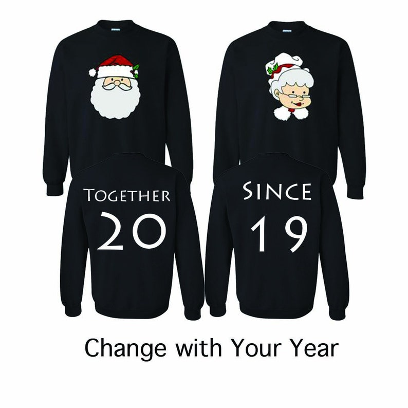 ba55d69d18b Mr. Claus   Mrs. Claus Sweatshirt Santa Christmas Gift