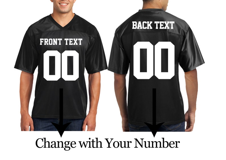 44da33c33 Customized Unisex Jerseys Your Name and Number Jersey T-shirts