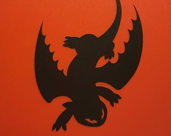 Toothless  - Vinyl Decal - Multiple Colors