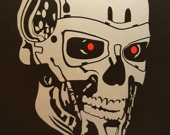 The Terminator  - Vinyl Decal