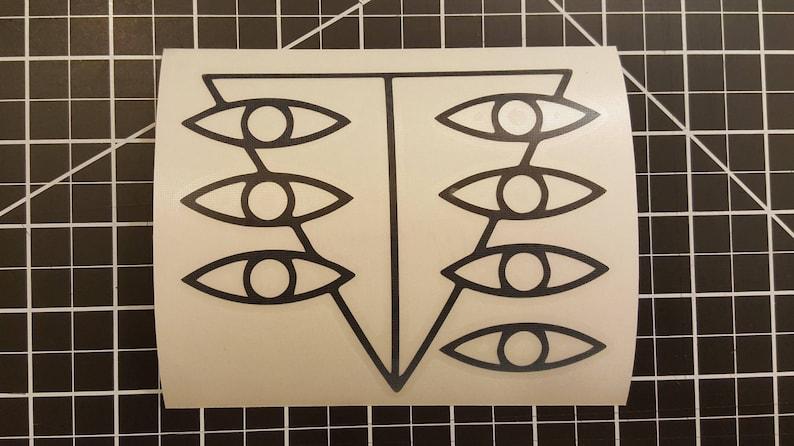 Neon Genesis Evangeleon  Seele Symbol   Vinyl Decal  image 0