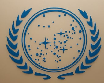 Star Trek - United Federation of Planets - Vinyl Decal - Multiple Colors