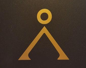 Stargate SG1 - Earth Symbol - Vinyl Decal - Multiple Colors