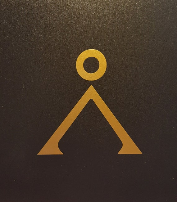 Stargate Sg1 Earth Symbol Vinyl Decal Multiple Colors Etsy