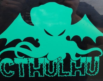 Cthulhu - Vinyl Decal - Multiple Colors