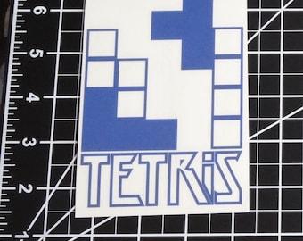 Tetris  - Vinyl Decal - Multiple Colors