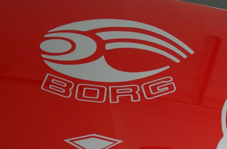 Star Trek  Borg   Vinyl Decal  Multiple Colors image 0