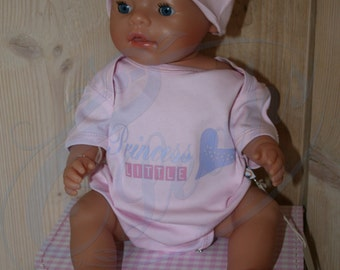 Baby Anzug - wenig Prinzessin