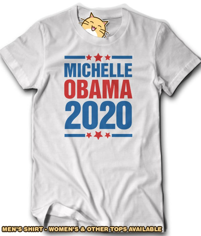 11e36460 2020 Michelle Obama T-Shirt Anti Donald Trump Not My President   Etsy