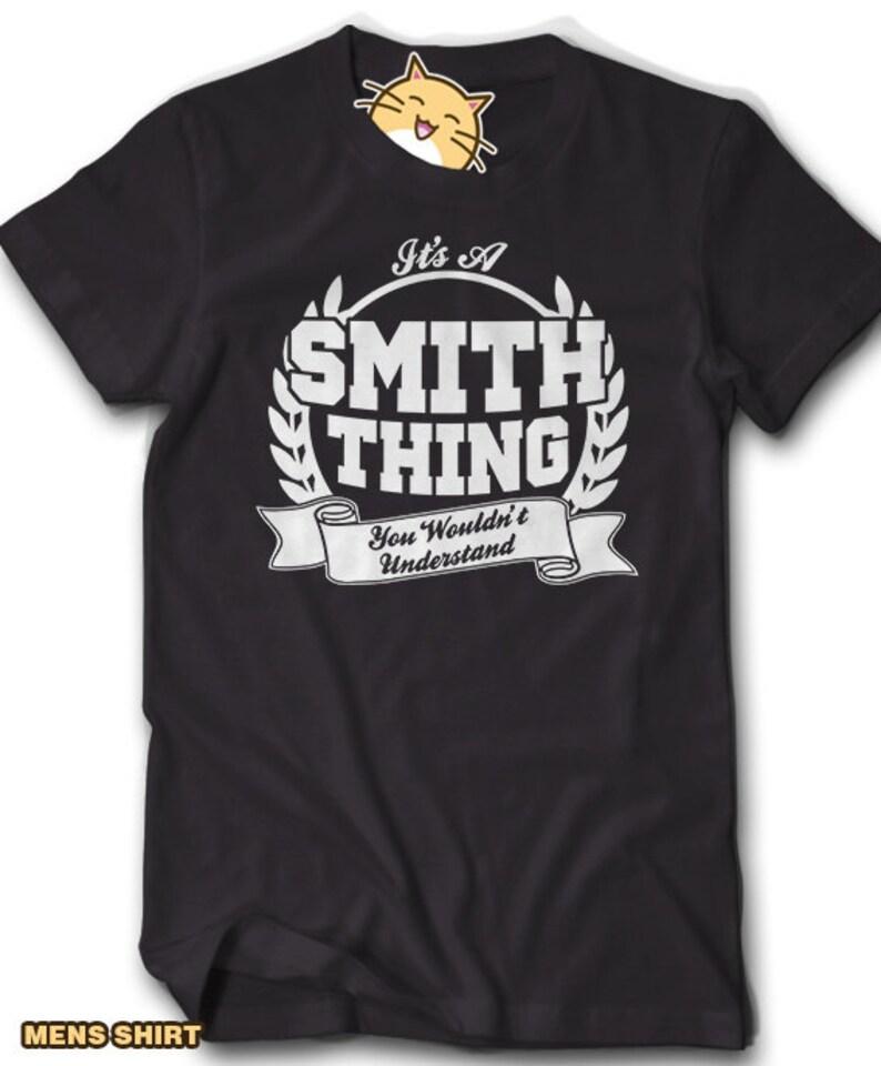 b2ca6b22a Custom ANY NAME Family Reunion Shirt Its a Smith Thing You | Etsy