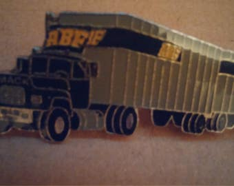ABF Trucking Double Lapel/Hat Pin with Mack Truck